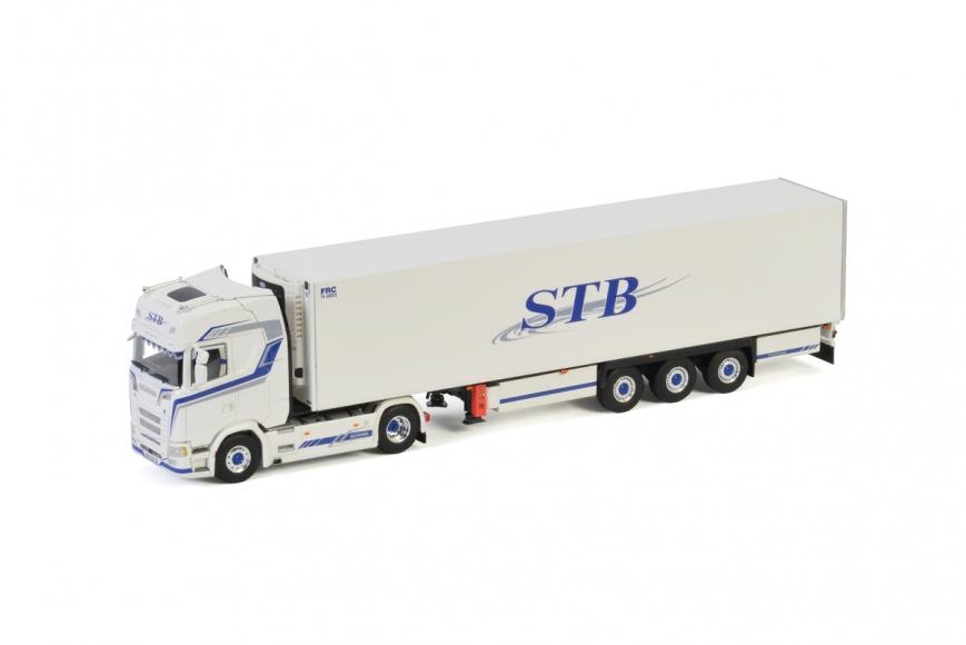 WSI 01-3218 - SCANIA S HIGHLINE | CS20H 4X2 - 3-Achs Kühlauflieger - STB