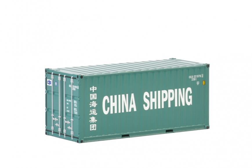 WSI 04-2036 - Premium Line - 20FT CONTAINER - China Shipping