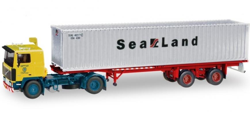 Herpa/Tekno 071437 - Volvo F10 Container-Sattelzug