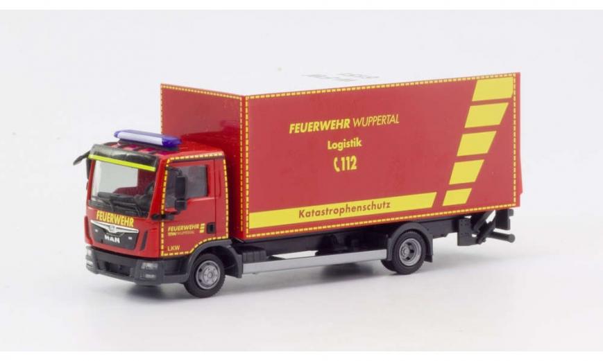 Herpa 094788 - MAN TGL Euro6 Koffer-LKW mit Ladebordwand