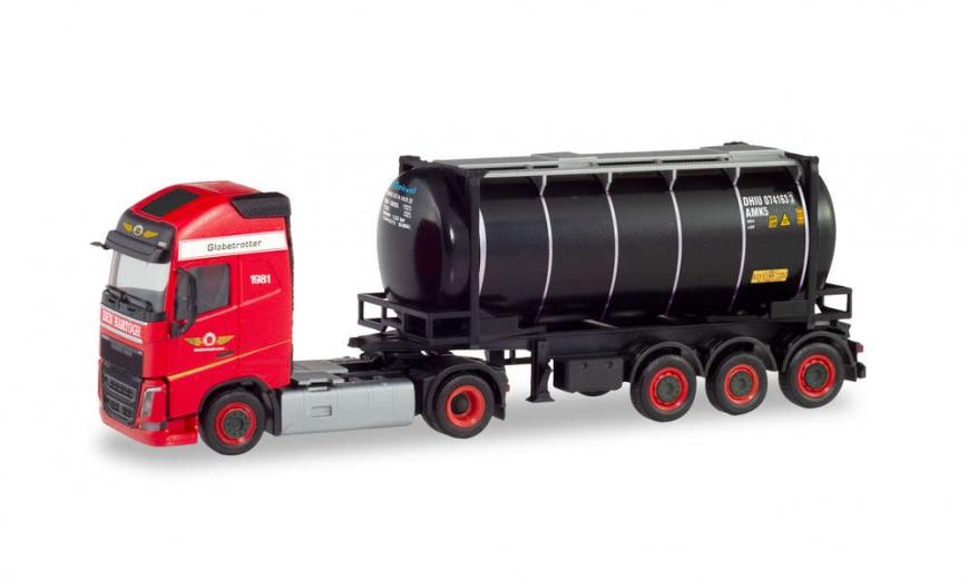 Herpa 311526 - Volvo FH Gl. Swapcontainer-Sattelzug