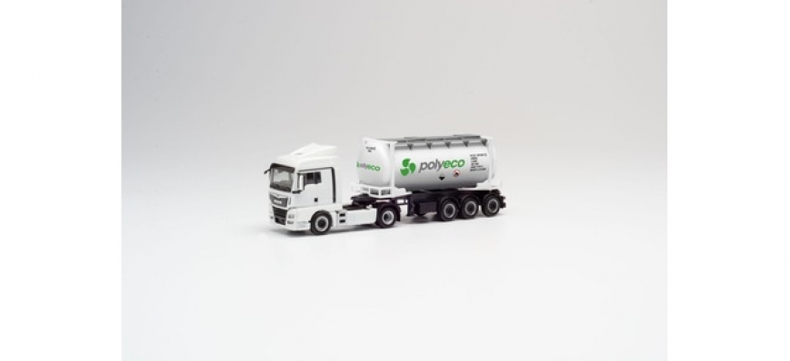 Herpa 311694 - MAN TGX XLX Euro 6c Swapcontainer-Sattelzug