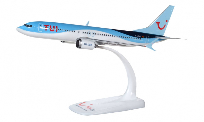 """Herpa 612760 - TUIfly Germany Boeing 737 Max 8 – D-AMAX """"Mallorca"""" Snap-Fit"""