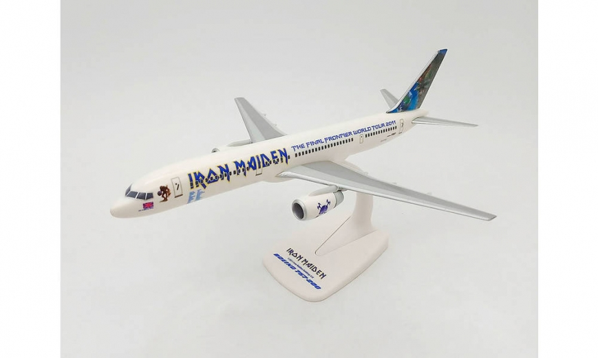"Herpa 613262 - Iron Maiden (Astraeus) Boeing 757-200 ""Ed Force One"" - The Final Frontier World Tour 2011 – G-STRX"