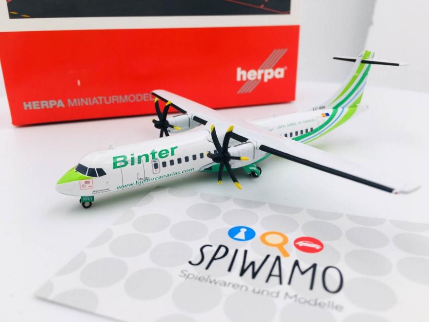 Herpa 571241 - Binter Canarias ATR-72-600,