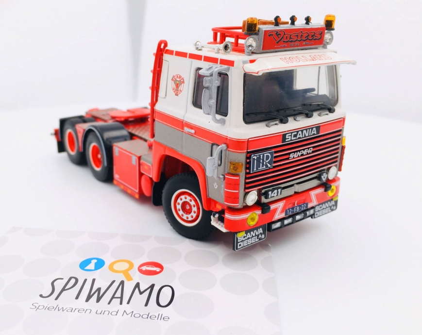 WSI 01-3286 - SCANIA 1 SERIES 6X2 TAG AXLE - Vosters