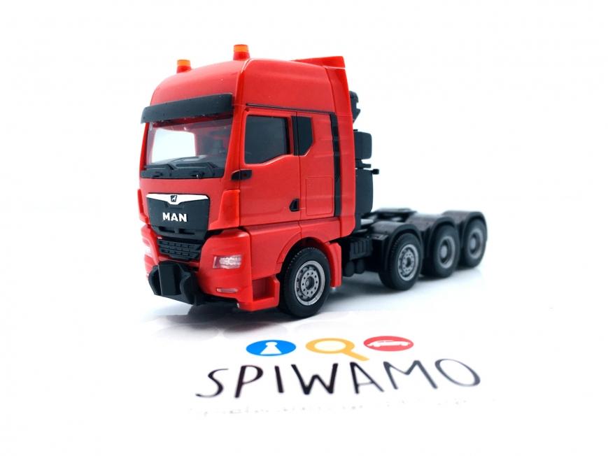 Herpa 313520 - MAN TGX GX Schwerlastzugmaschine, rot