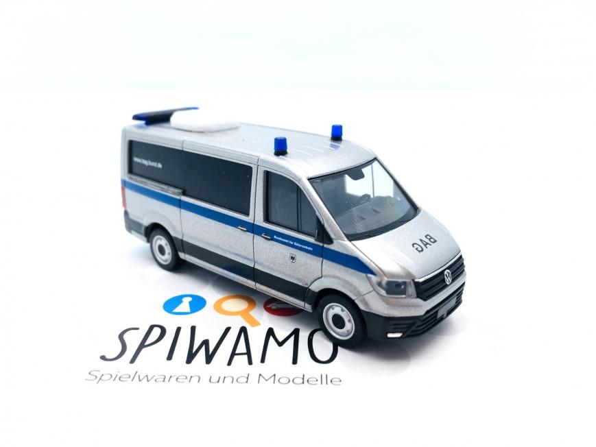 Herpa 095792 - VW Crafter Bus Flachdach