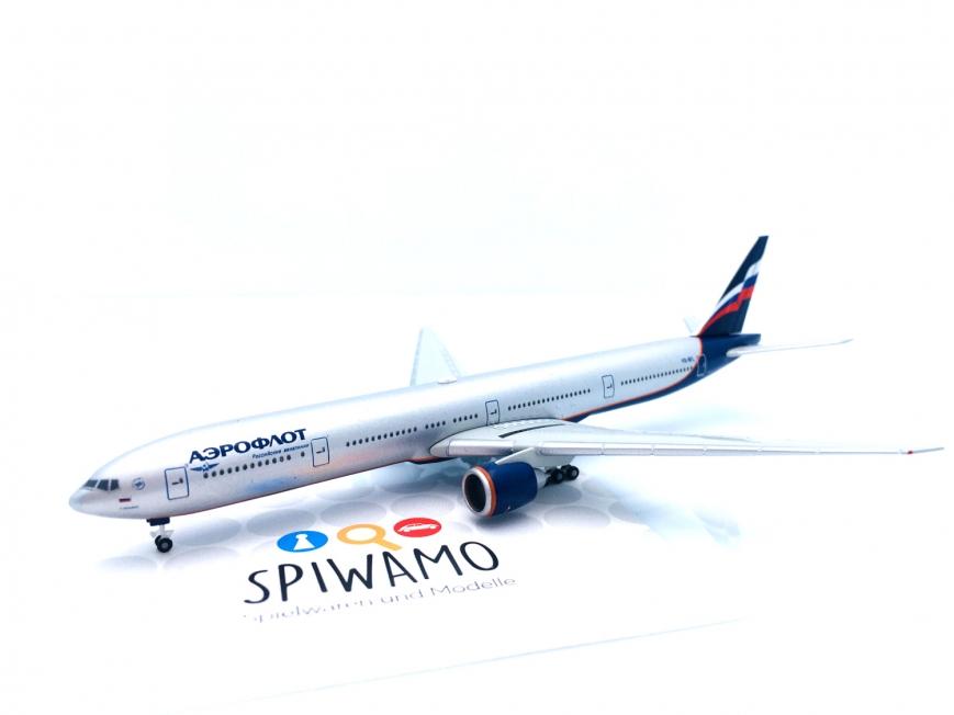 """Herpa 526364-002 - Aeroflot Boeing 777-300ER """"K. Balmont"""" - 1:500"""