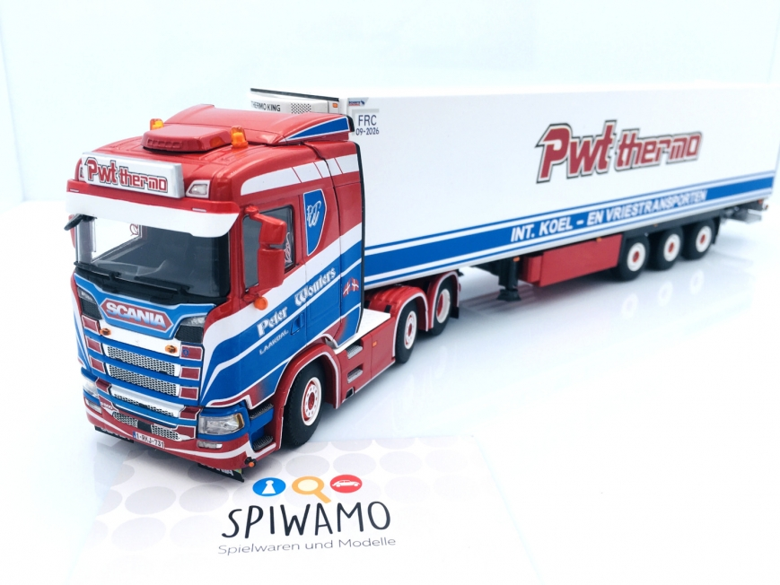 WSI 01-3383 - SCANIA S NORMAL | CS20N 6X2 - 3 Achs Kühlauflieger - PWT Thermo
