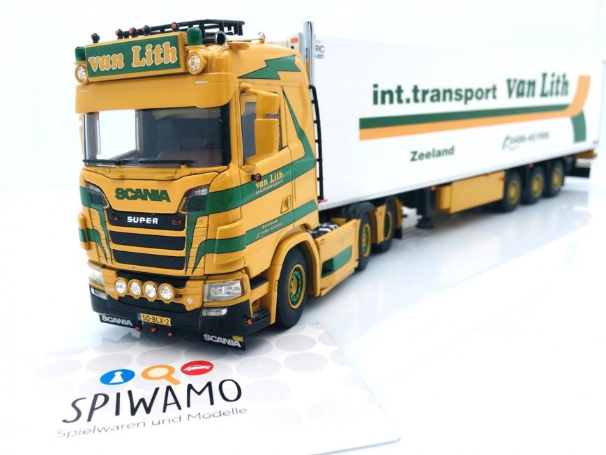 WSI 01-3413 - SCANIA S Normal | CS20N 6X2 - 3 Achs Kühlauflieger - Int. Transport van Lith
