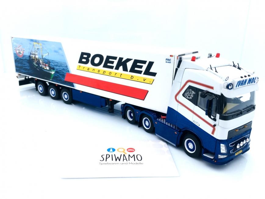 WSI 01-3340 - VOLVO FH4 GLOBETROTTER XL 6X2 - 3 Achs Kühlauflieger - Ivan Mol Transport