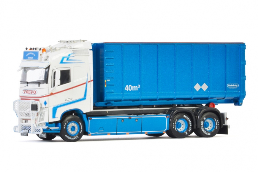 WSI 01-3342 - VOLVO FH4 GLOBETROTTER 6x2 - Abrollcontainer - Loods Akeri